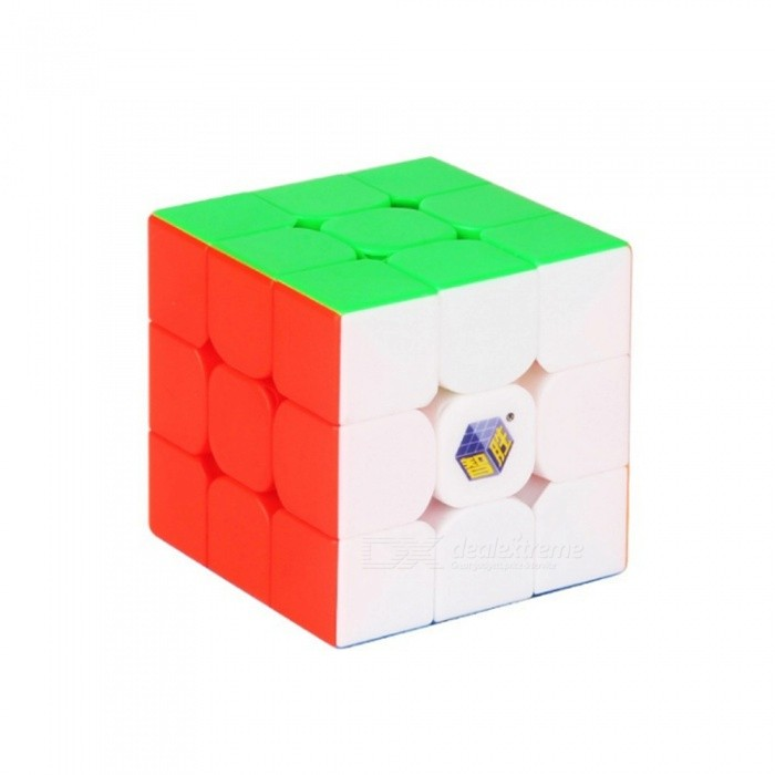 Qiyi Black Unicorn 3x3 Speed Cube Stickerless Magic Cube Puzzles Toys 55.5mm