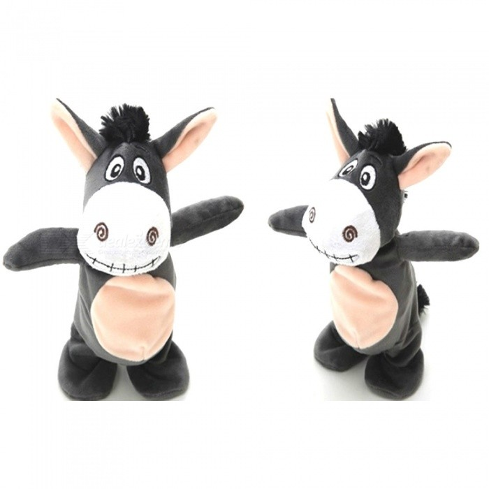 Singing Talking Little Plush Donkey Toy