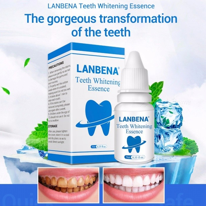 Liquid Oral Hygiene Cleaning Teeth Whitening Essence Serum Removes Plaque Stains Tooth Bleaching Dental Tools 10ml