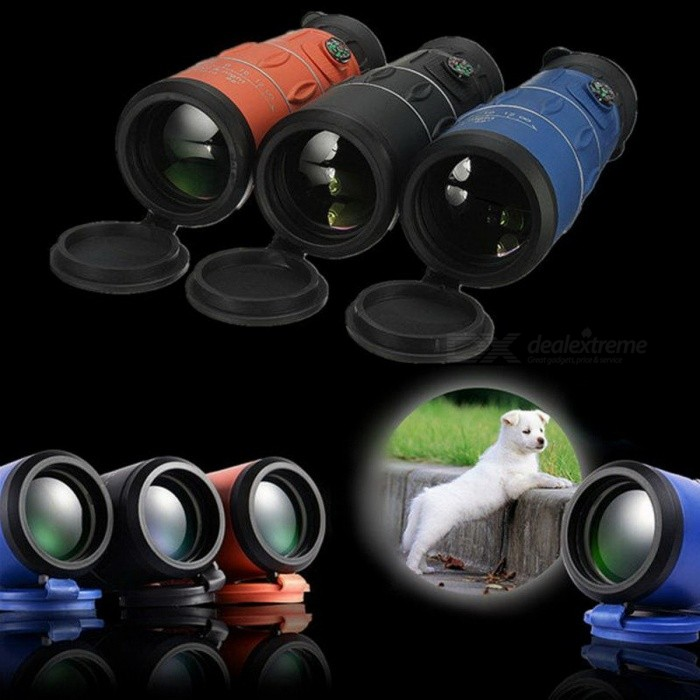 High Times 26X52 HD Multi-coated Wide Angle Monocular Binoculars Telescope Eyepiece W/ Night Vision For Outdoor Hunting Black