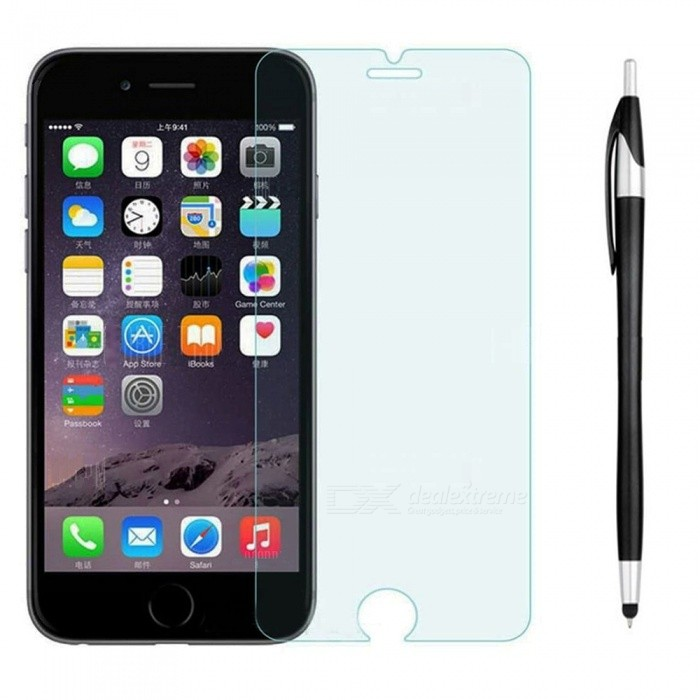 SZKINSTON Anti Blue Light 5D Tempered Glass Touch Screen Protector Film Ballpoint Capacitive Pen for Apple IPHONE 8 / 7