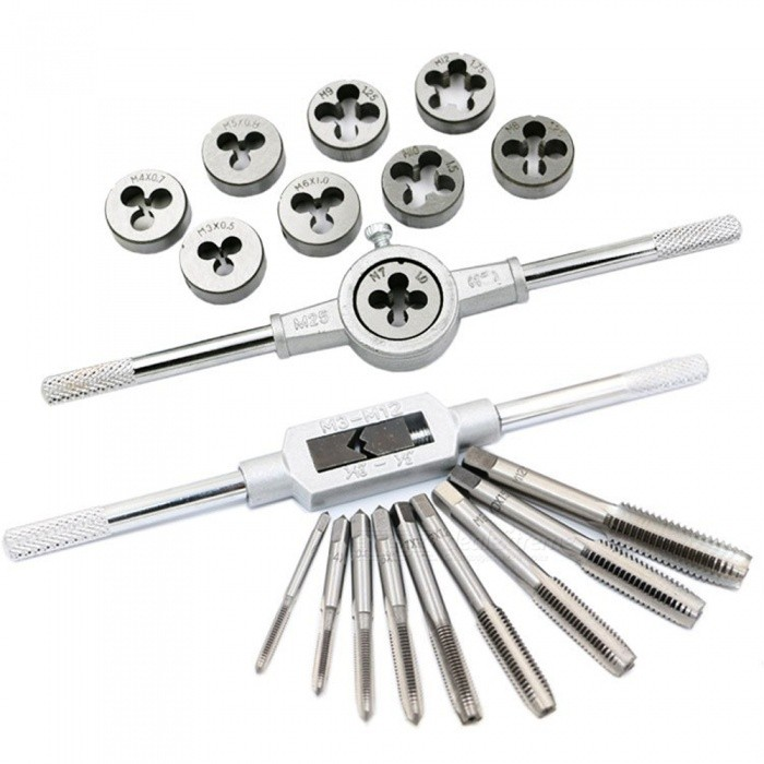 20Pcs Tap and Die Wrench Tool Set