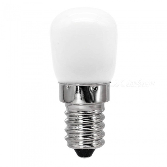 E14 2W 4-2835 SMD LED Bulb Light Ceramic Energy-Saving AC 220V LED Light For Indoor Lighting, 360 Degree Beam Angle Warm White/3w/White