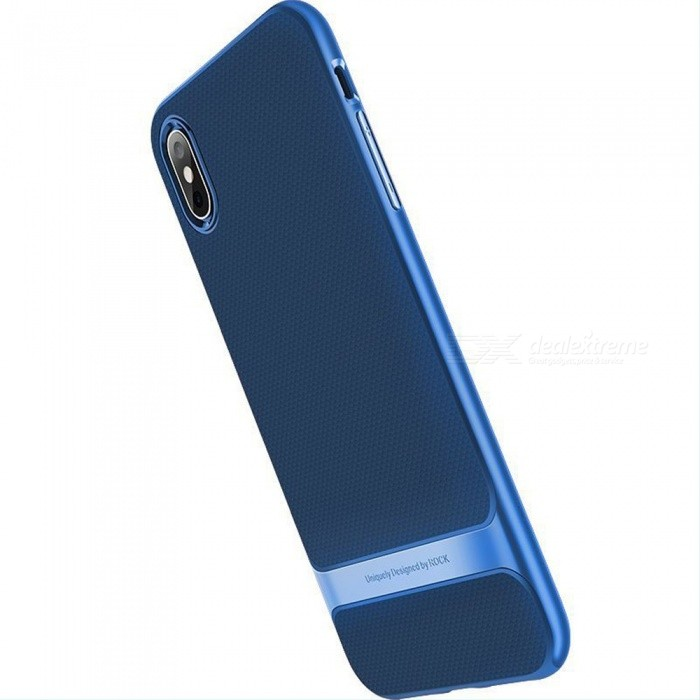 ROCK Simple Thin Full Coverage Anti-Scratch TPU Phone Case For IPHONE XS, XS Plus, 9 Black/ iphone 9 6.1