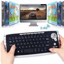 24G-Wireless-Trackball-Keyboard-With-Fly-Air-Mouse-For-Android-TV-BOX-Multifunctional-Scroll-Wheel-Keyboard-For-PC-Black