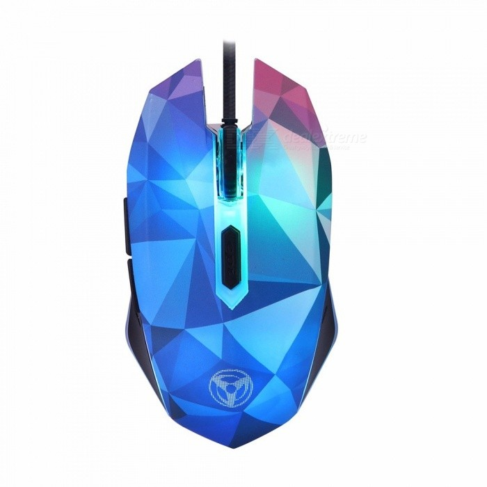 Dazzle Colour Diamond Edition Gaming Mouse, USB Wired Mouse, Gamer Optical Computer Mouse For Pro Gamer White