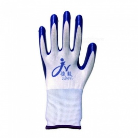 42g-Nitrile-Rubber-Latex-Comfortable-Non-Slip-Wear-Resistant-Labor-Protection-Work-Gloves-For-Garden-Home-(12-Pairs)-Blue
