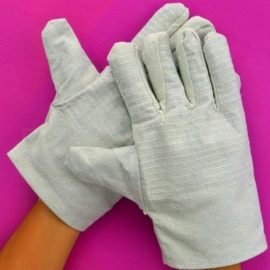Double-Layer-Thickened-Protective-Cloth-Gloves-Wear-Resistant-Canvas-Gloves-For-Welding-Repairing-(10-Pairs)-White
