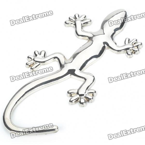 Buy Gecko Style Metal Sticker - Silver with Litecoins with Free Shipping on Gipsybee.com