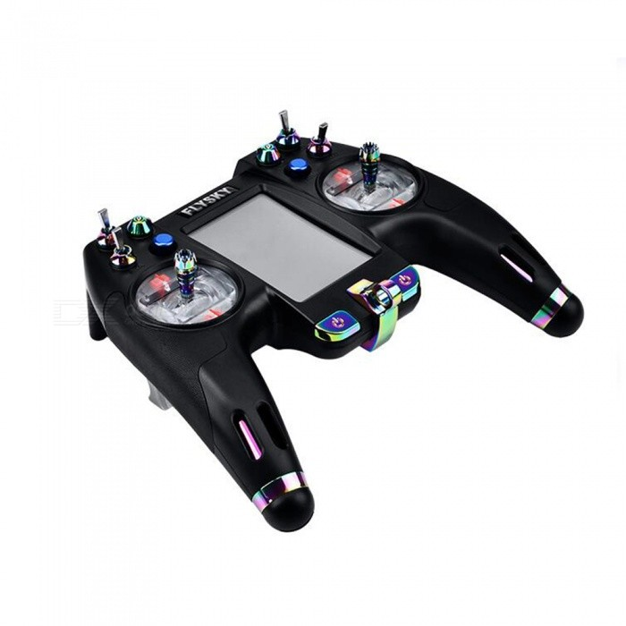 Flysky 2.4G FS-NV14 14CH Remote Control with Touch Screen Mode 2 for DIY Racing Drone - Black