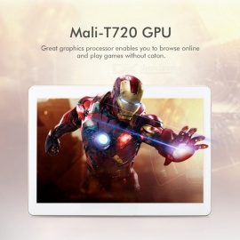 10.1 Inches IPS Full HD 4G Tablet with 3GB RAM, 32GB ROM - Gold