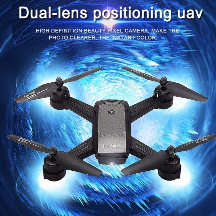 LH-X34F Remote Control RC Drone Quadcopter Toy With Camera, Altitude Hold Mode For Kids Gray for sale for the best price on Gipsybee.com.