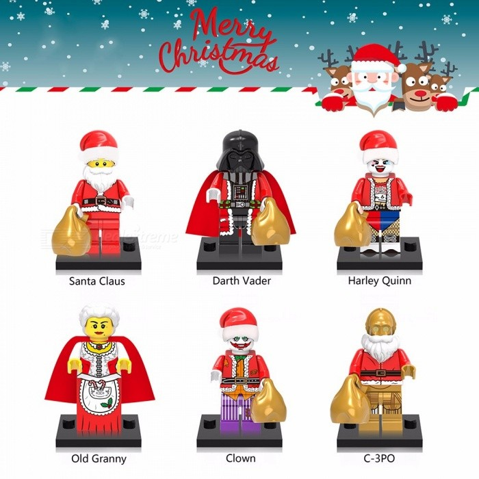 XINHONG X0140 Christmas Santa Claus Jigsaw Puzzles Educational Toy For 5-7 Years Dark Khaki