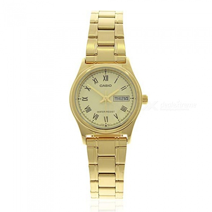 Casio LTP-V006G-9B Women's Stainless Steel Watch - Gold (Without Box)