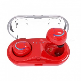 Invisible-Wireless-Bluetooth-Headset-Earphone-with-Charging-Box-Red