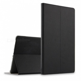 Protective-PU2b-PC-Cover-Case-with-Stand-for-Xiaomi-Mi-Pad-4-Plus-Black