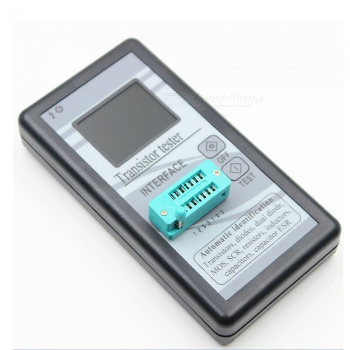 ZHAOYAO Multifunction Transistor Tester Automatic Identified Resistor Inductor Capacitor ESR Meter Checker Detector M328