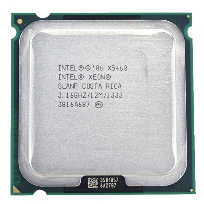 Intel Xeon X5460 3.16GHz 12M 1333Mhz Processor, Works On LGA775 Mainboard As the Picture