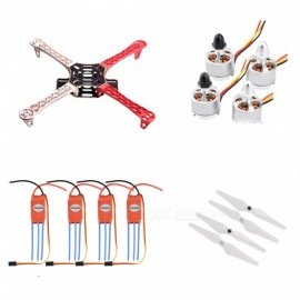 F450mm Quadcopter Frame Kit + 2212 920KV Borstelloze Motor + 30A Simonk Borstelloze ESC + 9045 Schroef Voor Flamewheel F450 FPV