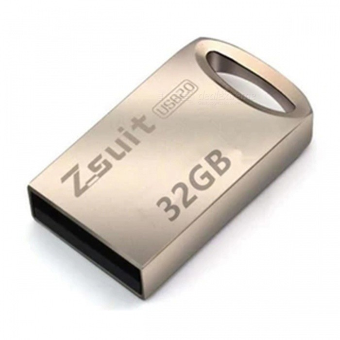 ZSuit M29 Mini Portable Metal USB 3.0 Flash Drive 32GB USB Flash Memory Stick Pendrive Silver