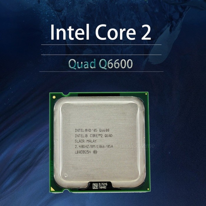 Intel Core 2 Q6600 2.4GHz Quad-Core FSB 1066 Desktop LGA 775 CPU Processor As the Picture for sale in Bitcoin, Litecoin, Ethereum, Bitcoin Cash with the best price and Free Shipping on Gipsybee.com