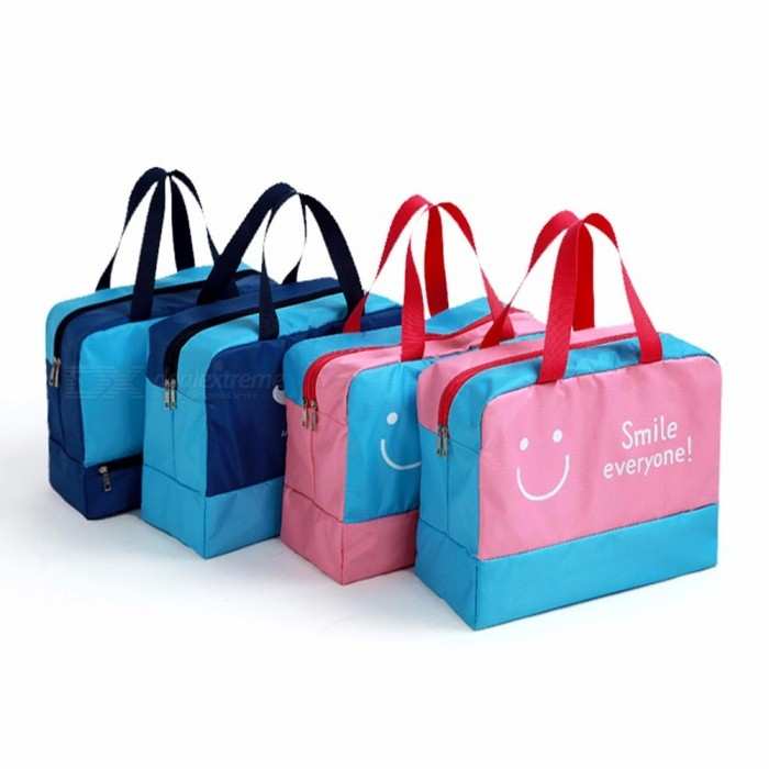 bfabcd55efe2 Waterproof Beach Swimming Bag Dry And Wet Sports Beach Pool Bags Nylon Men  Storage Travel Gym Bags Sky Blue - Worldwide Free Shipping - DX