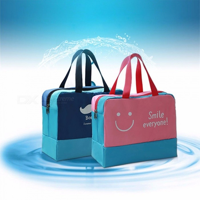 84d816a51367 ... Waterproof Beach Swimming Bag Dry And Wet Sports Beach Pool Bags Nylon  Men Storage Travel Gym ...