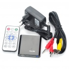 Mini 1080P Full HD Media Player con YPbPr / AV / HDMI / USB HOST / SD - Negro