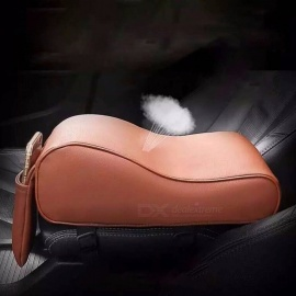 Leather-Car-Armrest-Pad-Universal-Auto-Car-Center-Console-Arm-Rest-Seat-Box-Pad-Vehicle-Protective-Car-Styling-Black