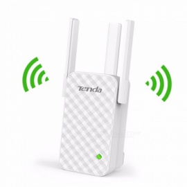 Tenda-A12-Wi-Fi-Router-Repeater-Wireless-Range-Extender-Enhance-AP-Receiving-Launch-White
