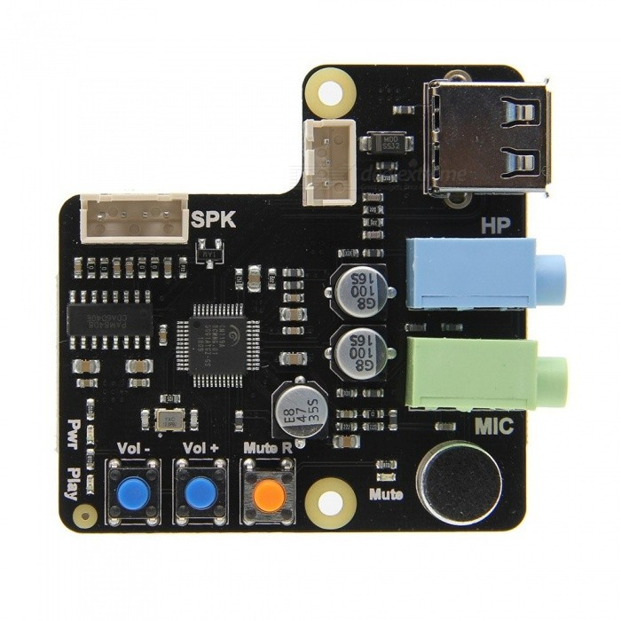 Geekworm-Raspberry-Pi-X350-Microphone-Input-Audio-Input-Output-USB-Audio-Card-For-PCRaspberry-Pi-3-Model-B2b(plus)3B2BB