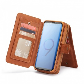 Cooho-Large-Capacity-Mobile-Phone-Case-Womens-Leather-Wallet-Case-for-Samsung-S9P