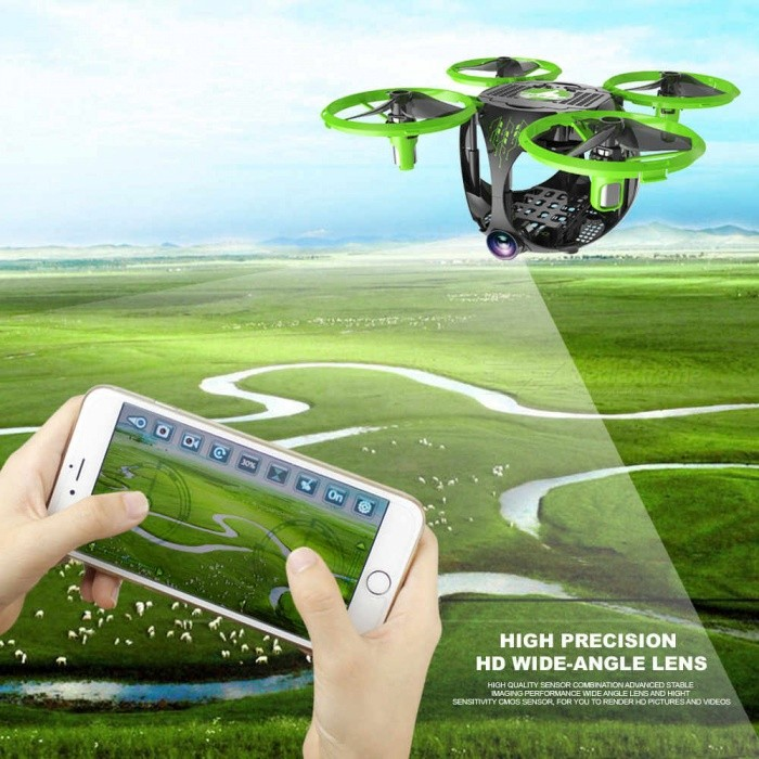 ESAMACT UAV Folding Wi-Fi Mini Aerial Four-Axis Aircraft Model Toy RC Airplane Quadcopter for sale in Bitcoin, Litecoin, Ethereum, Bitcoin Cash with the best price and Free Shipping on Gipsybee.com