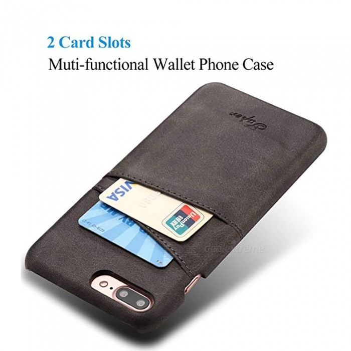promo code 5b293 7b6e2 Measy Wallet Phone Case, Slim PU Leather Back Case Cover With Credit Card  Holder For IPHONE 7 Plus /8 Plus