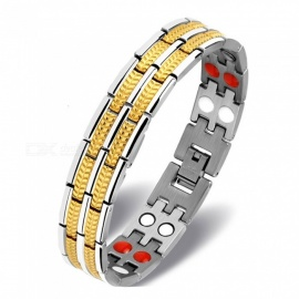 XSUNI-Titanium-Steel-Bracelet-with-Multiple-Magnets-for-Health-Care