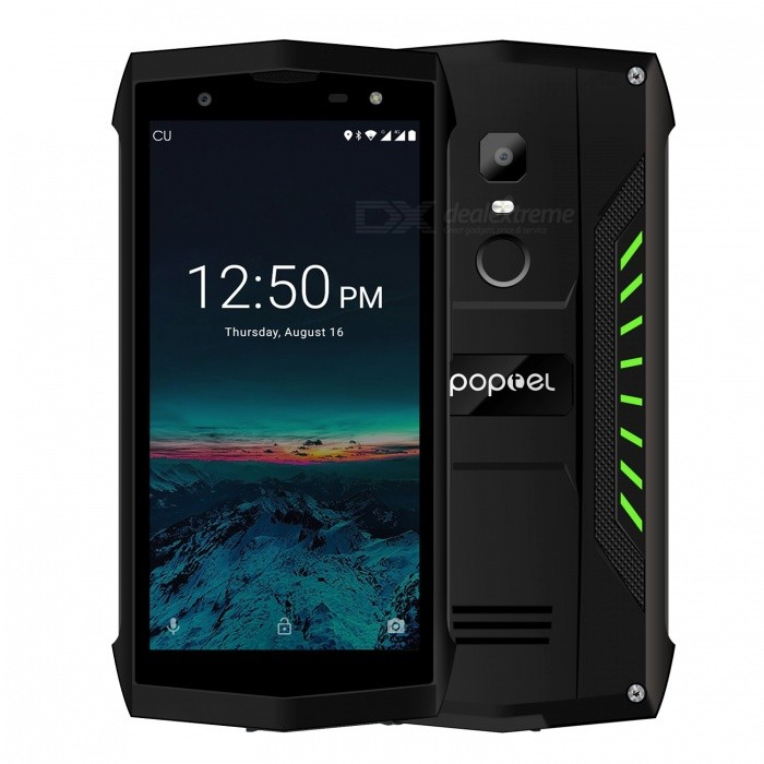 Poptel-P8-Mtk6739-Ruggedphone-5-Mobile-Phone-with-NFC-3750mAh-Battery-Face-ID-Loudest-Speaker