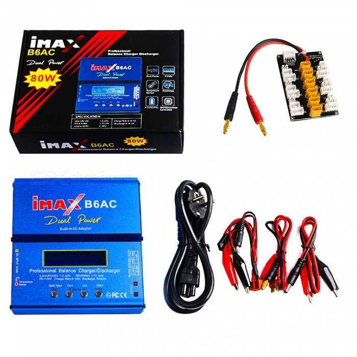 IMAX-B6AC-80W-6A-Dual-Balance-Battery-Charger-with-Digital-LCD-Screen-2b-XT30-Plug-Board