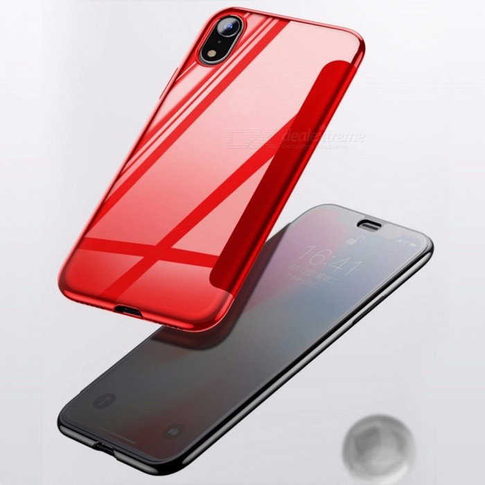 info for 96474 bba26 Baseus Flip Mobile Phone Case Dirt-resistant Business 5.8/6.1/6.5 Inch  Phone Cases For IPhone 9/XS/XS Plus Red/IPHONE XS 5.8