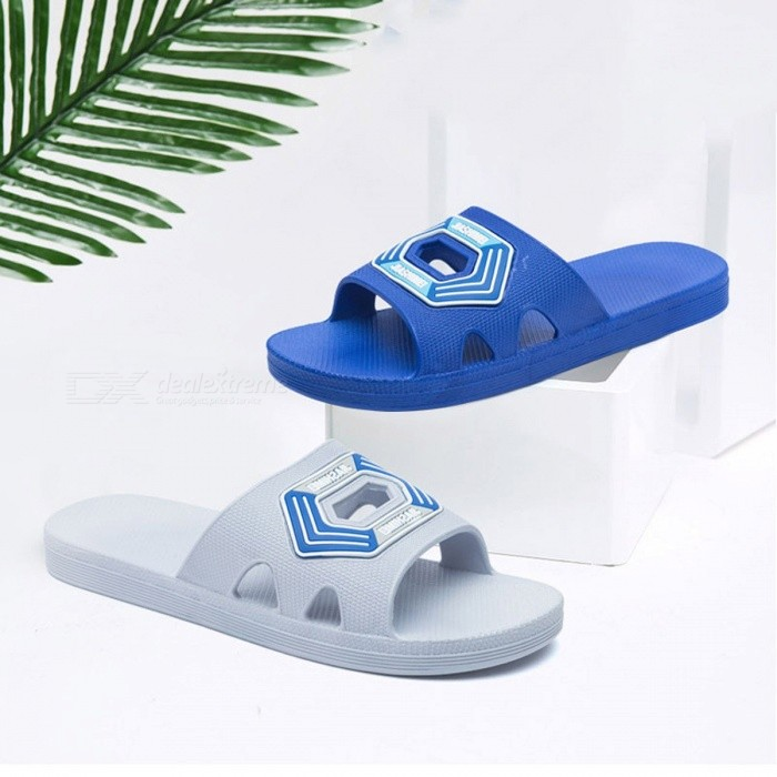 Non-Slip-Soft-Mens-Slipper-Casual-Anti-Skid-Wear-Resistant-Sandals-Flat-Shoes-For-Indoor-Home-Bathroom-Blue40