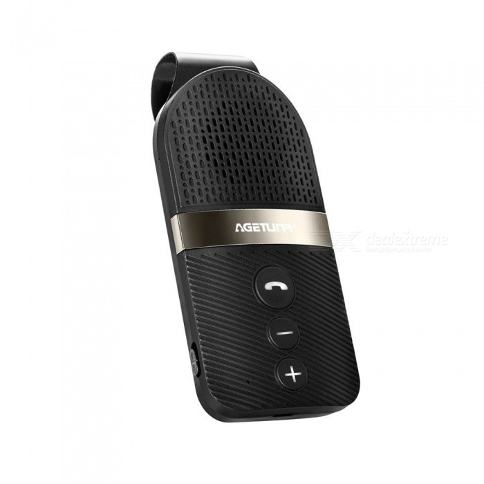 Bluetooth Car Kit Handsfree Calling Smart Car Bluetooth Speaker With Microphone Car Mp3 Player Support Two Mobile Phones Black Free Shipping Dealextreme