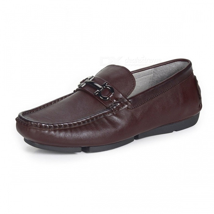 Autumn-Retro-Genuine-Leather-Shoes-Casual-Soft-Slip-on-Boat-Shoes-For-Middle-Aged-Mens-Brown38