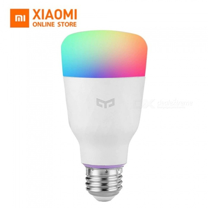 Global Version Yeelight Smart LED Bulb (Color) E27 10W 800 Lumens Mi Light Xiaomi Mijia Smart Phone WiFi Remote Control 10w/Yes/White