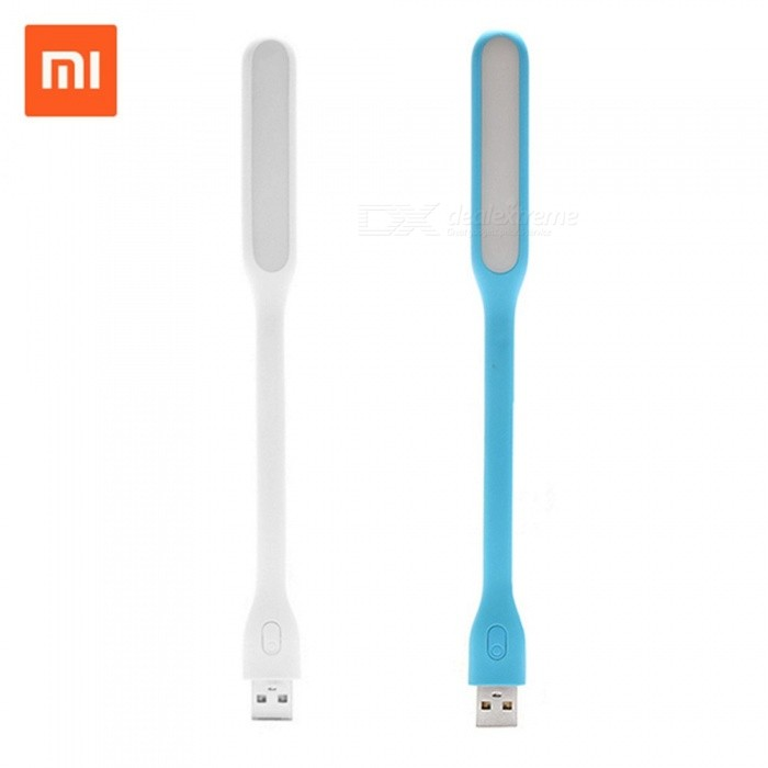 Switch Original Xiaomi Mijia USB LED Light With USB For Power Bank/Comupter Portable Shining LED Lamp White/Blue