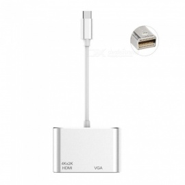 2-In-1-Mini-DP-Display-Port-Thunderbolt-Adapter-Cable-To-4k*2k-HDMI-VGA-Converter-Aluminum-For-MacBook-Pro-Air-iMac-Surface-Pro