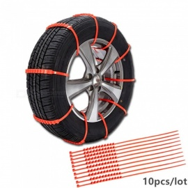 ESAMACT-10PcsLot-Winter-Car-Tyres-Wheels-Snow-Chains-Thickened-Plastic-Anti-Skid-Chain-for-Universal-CarsSuvT-Outdoor
