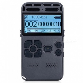 Digital Voice Recorder, 8GB Sound Audio Recorder Dictaphone for Lectures Meetings, AGC Noise Reduction, Voice Activated PCM