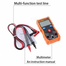 ZHAOYAO Full Intelligent Digital Multimeter LCD 4000 Count Automatic Range True RMS Backlight Ammeter Voltage Ohmmeter