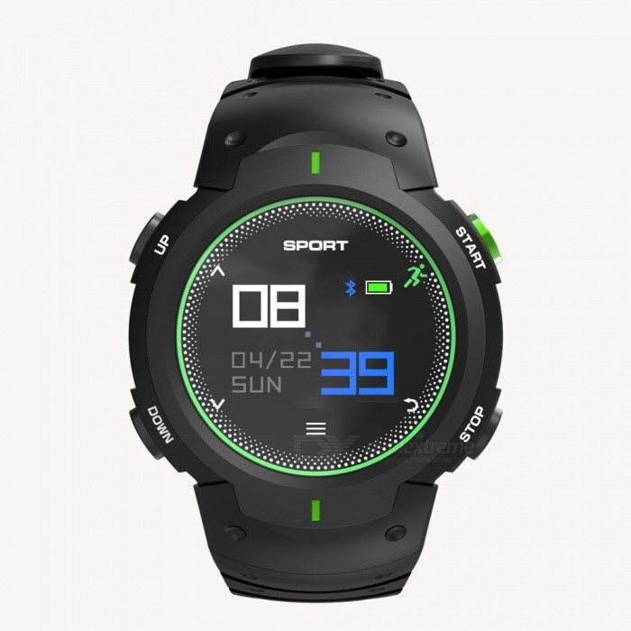 DTNO.1 New F13 Smart Watch 50m Waterproof 3D Spherical Glass Bluetooth Dynamic Heart Rate Monitor Digital Watches Red