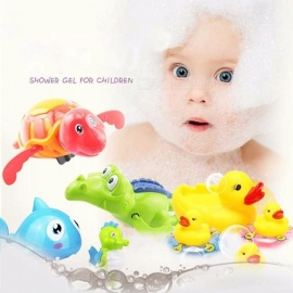 Dynamic Mini Dolphin Water Gun Toy Child Beach Water Gun Shooting Game Baby Bath Swimming Toys Funny Baby Kids Summer Beach Toy Gifts Water Guns, Blasters & Soakers