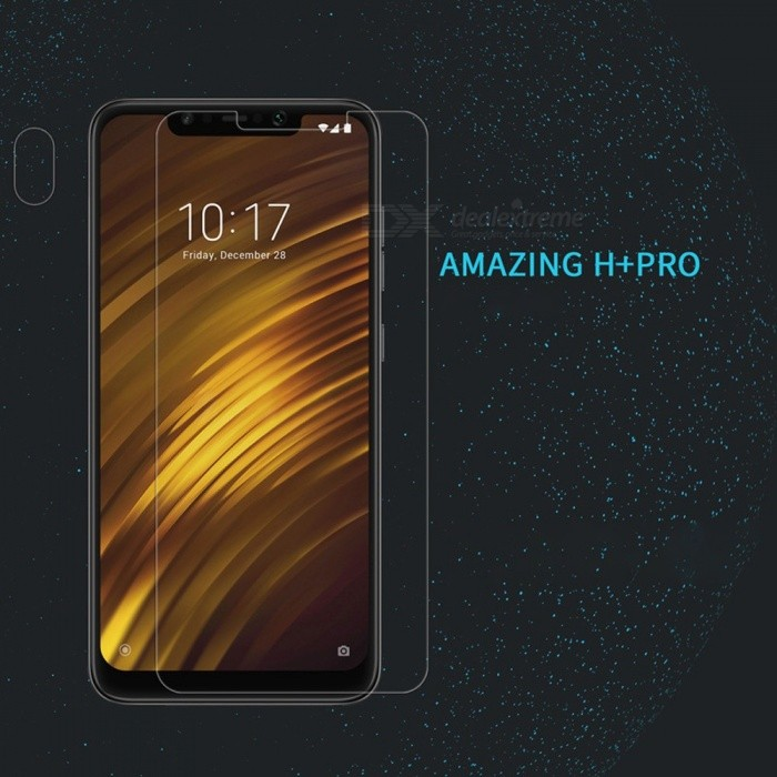 Nillkin H+PRO Tempered Glass Screen Protector Scratch Proof Front Film For Xiaomi Pocophone F1 Transparent/Tempered Glass
